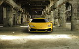 Обои: Huracán, full face, yellow, Lamborghini