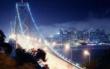 Обои: калифорния, ночь, california, Сан-Франциско, bay bridge, night, san francisco