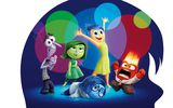Обои для рабочего стола: Inside Out, fear, glasses, fire, Mindy Kaling, Kaitlyn Dias, Riley, adventure, cartoon, 2015, joy, Phyllis Smith, movie, sweater, girls, sadness, dress, boys, monster, Amy Poehler, glasses, necktie, Pixar Animation Studios, head, Walt Disney Studios Motion Pictures, disgust, tie, male, five emotions, Lewis Black, Bill Hader, female, men, anger