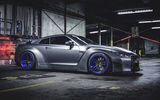 Обои: Nissan, Side, Front, Liberty Walk, Spoiler, Wheels, LB Perfomance, GT-R, Car, Tuning