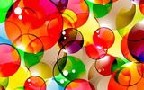 Обои: colorful, abstract, пузыри, bubbles