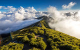 Обои: mountain, sky, cloud, path