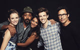 Обои: The Flash, Candice Patton, Jesse L. Martin, Grant Gustin, Thomas Cavanagh, Danielle Panabaker, сериал