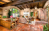 Обои: luxury, living room, ranch, santa fe