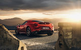 Обои: Alfa-Romeo, Launch Edition, Red, Sunset, 2015, 4C, Rear, Car, Sport