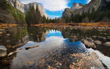 Обои: Kenji Yamamura, река, Yosemite National Park, небо, photographer, горы
