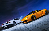 Обои: Lamborghini, Moscow, Huracan, Car, City, Gallardo, Ligth, Nigth, Photo