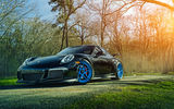 Обои: Porsche, ADV.1, Sun, Wheels, GT3, 911, Forged, Grass, Front, Custom