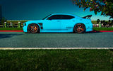 Обои: Dodge, Car, SRT8, Charger, Side, Blooded, Rides, Blue