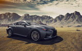 Обои: Lexus, RC-F, Composite, Dynamic, Fancy, Clouds, Mountains, Landscapes, Car, Sport