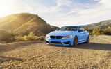 Обои: bmw m4, car, blue