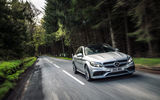 Обои: 2015, Mercedes, UK-spec, AMG, W205, C 63 S, мерседес, амг