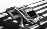 Обои: porsche, black and white, carrera, supercar