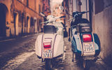 Обои для рабочего стола: Jamie Frith, retro, photographer, мотороллер, Rome, мопед, Рим, photo, Piaggio