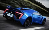 Обои: Lykan Hypersport, суперкар, supercar, UHD, car, blue, race, 4K, W Motors