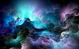 Обои: abstract, colors, clouds, unreal, облака, space
