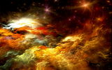 Обои: abstract, space, clouds, colors, unreal, облака