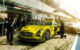 Обои: Mercedes-Benz, Race, Russian, Viatti, GT, Team, Yellow, AMG, Pit, GT3, Stop, SLS