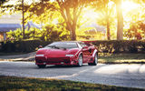 Обои: Lamborghini Countach, hq, red, supercar