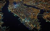 Обои для рабочего стола: New York, One World Trade Center, United States, Manhattan, United States of America, US, island, USA, architecture, lights, borough, 1WTC, NY, skyscrapers, evening, NYC, night, America, structure, New York City