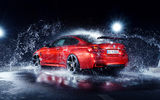 Обои: BMW, M4, AC-Schnitzer, Car, Rear, Red, Water, German