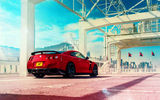 Обои: Nissan, Car, Sport, GT-R, Red, Japan, R35, Sky, Rear