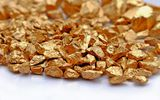 Обои: gold, mineral, white, table, metal