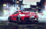 Обои для рабочего стола: Toyota, Need for speed, Drift, Supra, 2JZ, JZ, Speedhunters, Tuning, YASID design, Spoiler