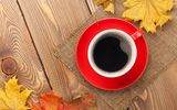Картинки на телефон: autumn, осенние листья, осень, fall, maple, cup, leaves, чашка, coffee, клён