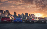 Обои для рабочего стола: Nissan, GTR, R35, R32, R34, Cars, Skyline, Japan, R33, Rear, Sunset, Legend