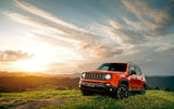 Обои: Jeep, Renegade, ренегат, джип, природа, закат, солнце