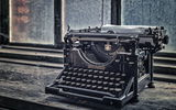 Картинки на телефон: Typewriter, Abandoned, Lost