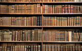 Обои: library, hard cover, books, wood