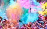 Обои: Colour Colour run, River Festival, fun running australia