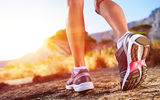 Обои: Runner, sports shoes, outdoor activities, woman
