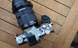 Обои: camera, professional, table, wood