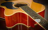 Обои: guitar, strings, wood