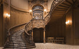 Обои: staircase, wood, decoration, design