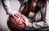 Обои: woman, basketball, ball