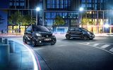 Обои: Смарт, Geneva Motor Show, Smart EQ fortwo edition nightsky, Smart EQ forfour edition nightsky, Smart, 2018, электромобиль