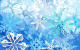 Обои: синий, зима, snowflakes, blue, winter, снежинки