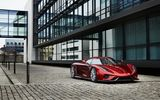 Обои: Regera, гиперкар, red, Koenigsegg, суперкар, city