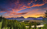 Обои для рабочего стола: snake river, usa, гранд-титон, wyoming, grand teton national park