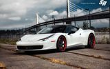 Обои: srauto, white, blade, 458, ferrari, project, ice, italia, tuning, beautiful, car