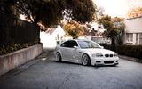 Обои: белый, white, building, e46, wheels, m3, бмв, bmw, sky