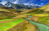 Обои: nature, green, fine, river, mountain