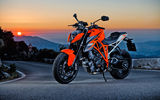 Обои: закат, мотоцикл, KTM 1290 Super Duke R, sunset, motorcycle, bike, KTM