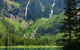 Обои: avalanche lake, глейшер, монтана, montana, glacier national park, озеро