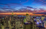 Обои: new york city, nyc, theatre district, manhattan, usa, new york, empire state building