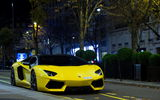 Обои: Lamborghini, LP700-4, Aventador, exotic, france, supercar, Yellow, paris